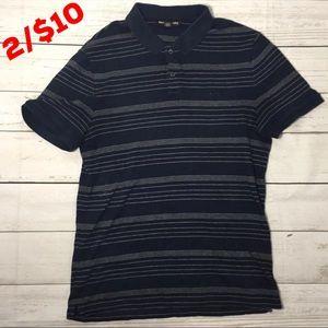 Michael Kors Men's Striped Polo Shirt